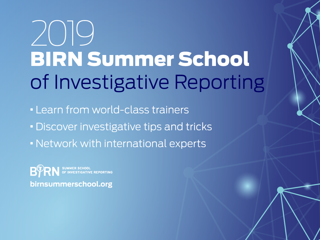 Pulitzer Winner and Finalists are Leading Trainers for 10th BIRN Summer School